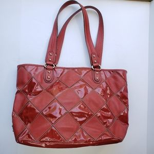 Tignanello large patchwork leather shoulder tote